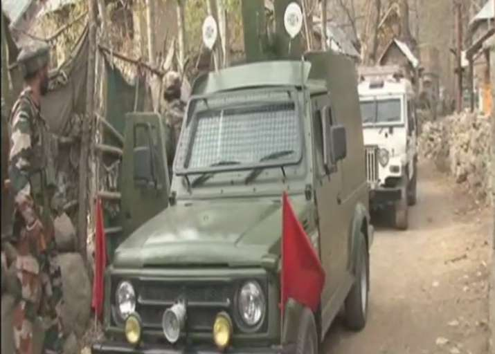 Encounter between Security forces and terrorists underway