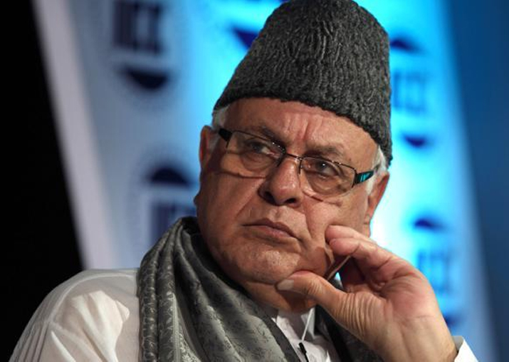File pic of Farooq Abdullah