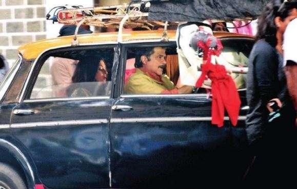 Aishwarya Rai and Anil Kapoor in Fanney Khan