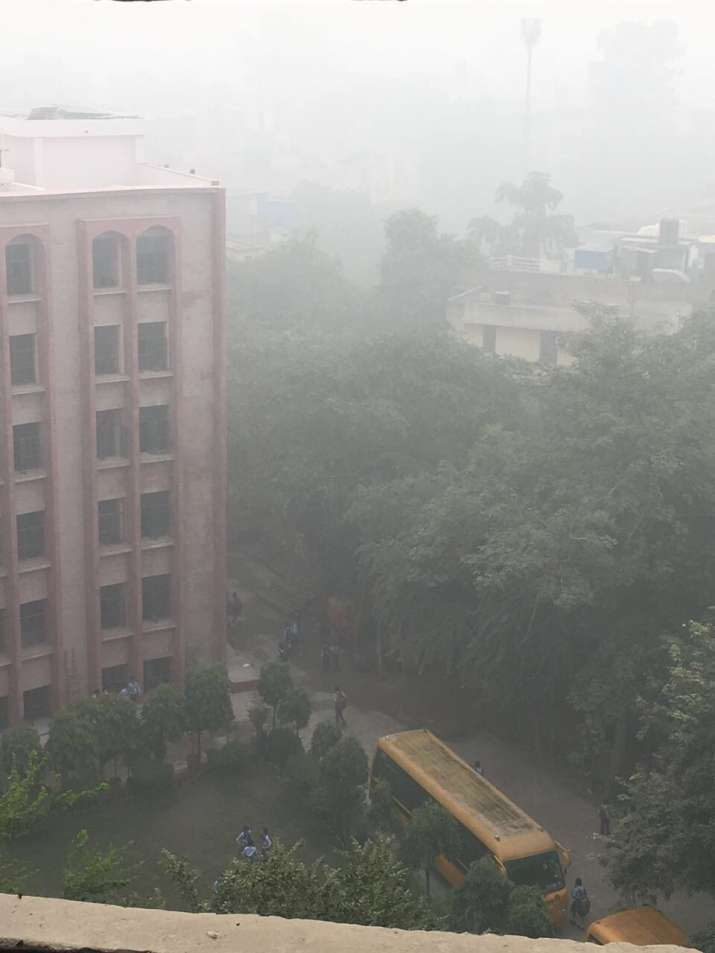 India Tv - Shallow fog dips visibility in Delhi-NCR.