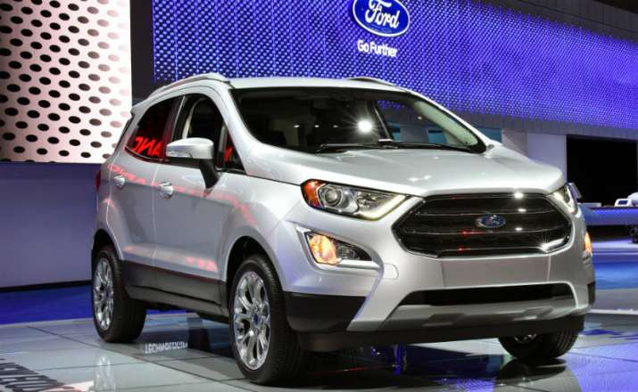 Ford Ecosport 2017 India Launch Price 731 Lakh Design