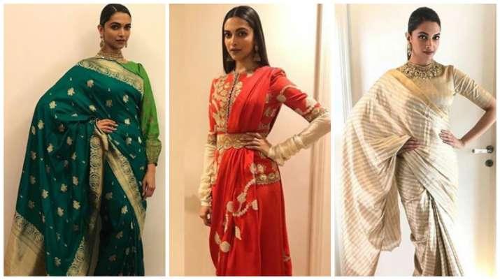Deepika Padukone's Padmavati promotion looks