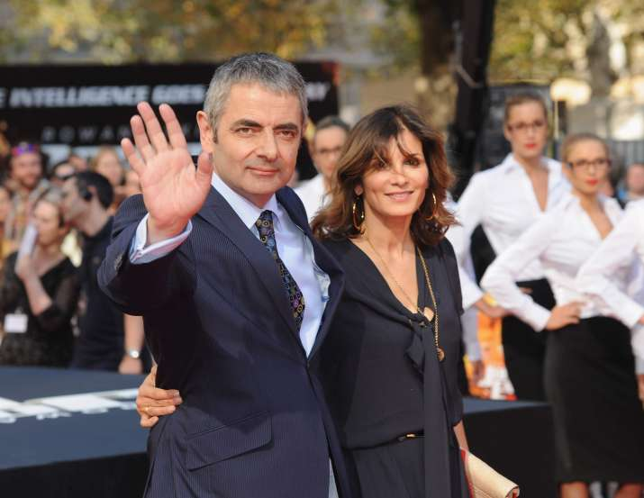 India Tv - Rowan Atkinson with his ex-wife