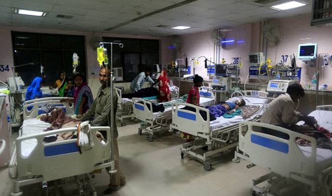 India Tv - Gorakhpur tragedy