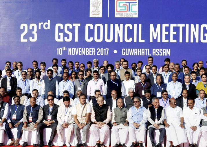 Arun Jaitley in a group photograph with others during the