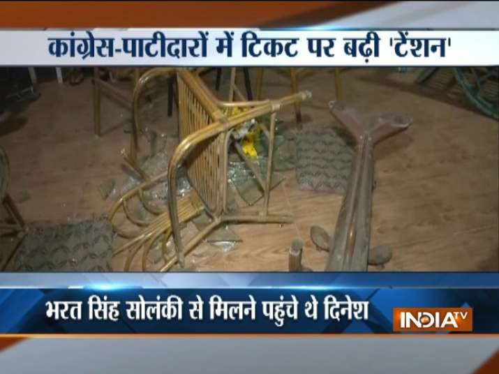 Gujarat Polls Midnight Jolt To Congress Hardik Deal As Supporters