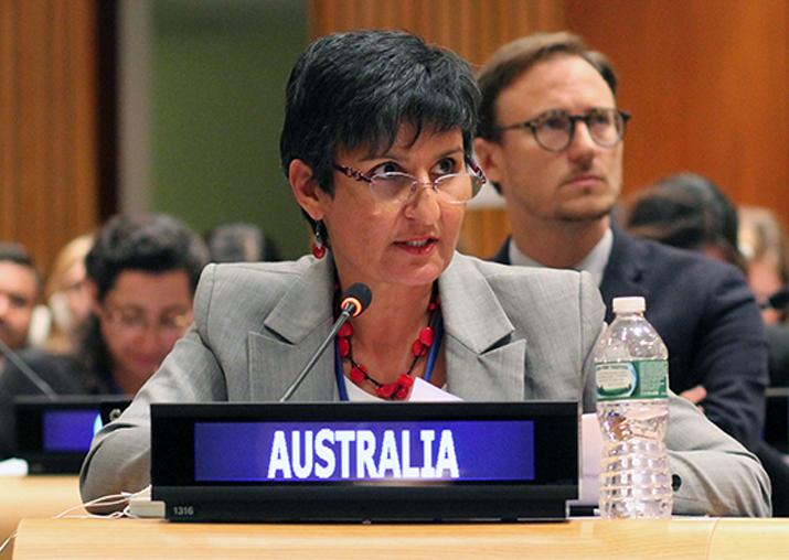 File pic of Australian envoy Harinder Sidhu