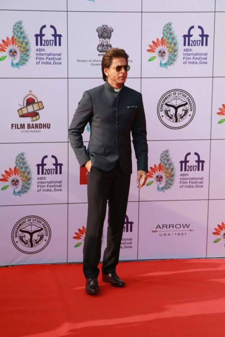 India Tv - SRK at International film festival of India