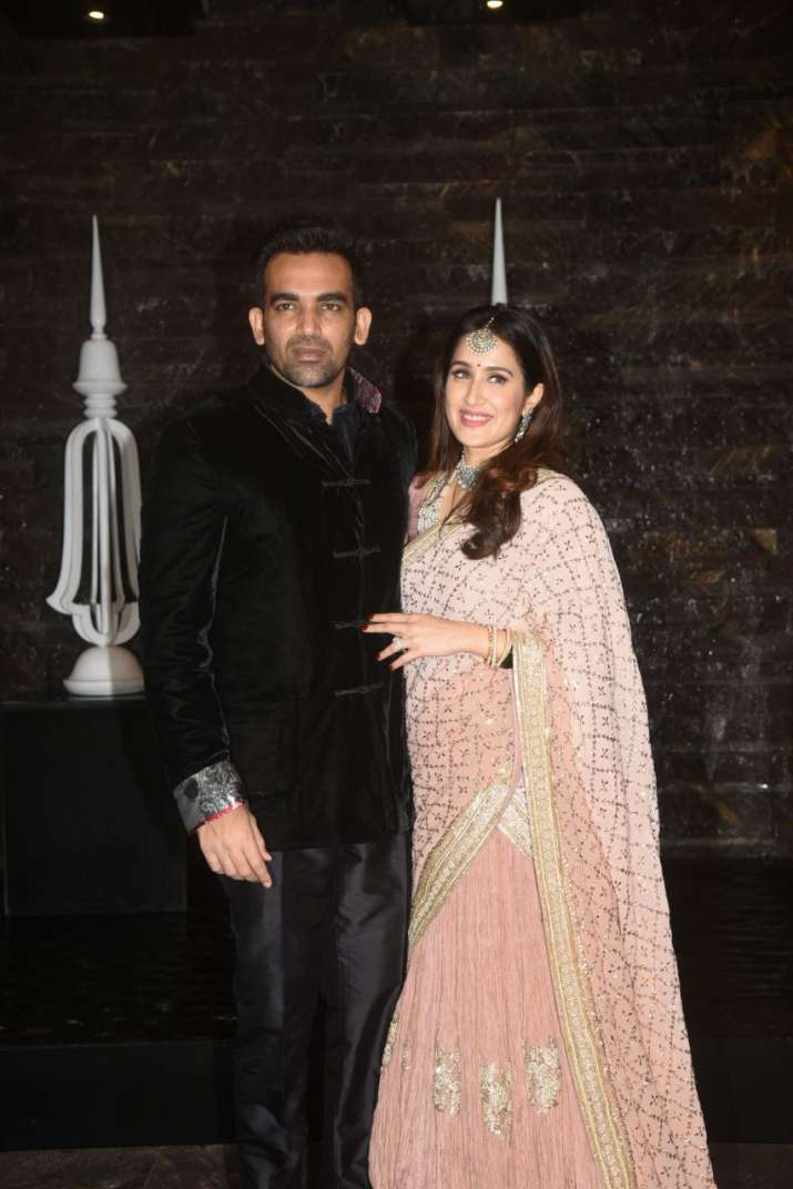 India Tv - Zaheer Khan and Sagarika Ghatge