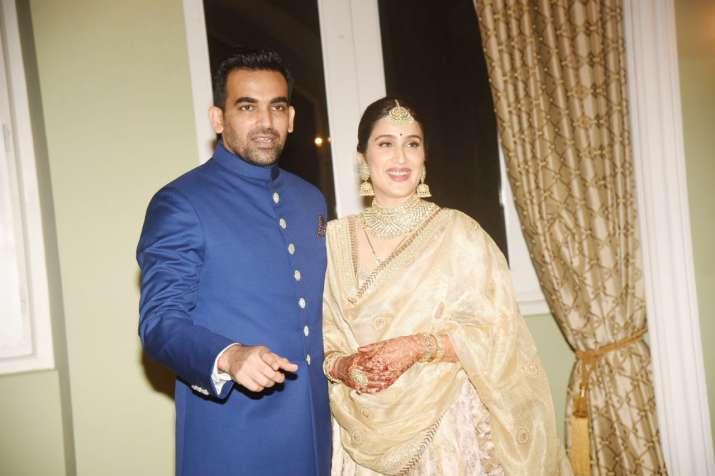 India Tv - Sagarika Ghatge-Zaheer Khan