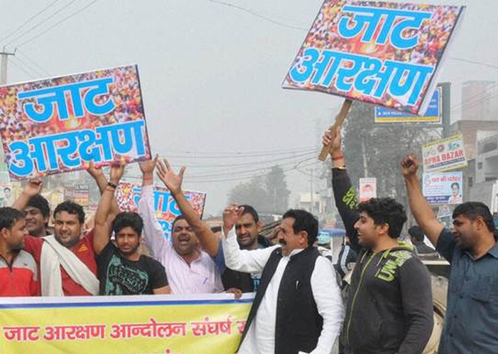 File pic - Rallies by Jats, BJP MP today: Haryana on alert,