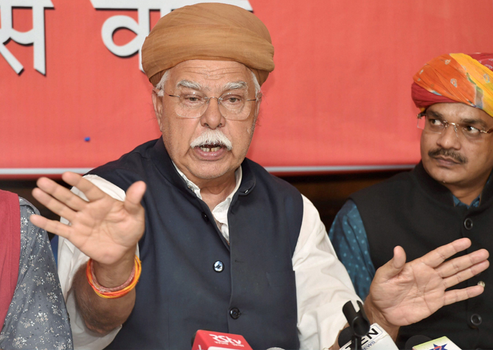 Rajput Karni Sena founder Lokendra Singh Kalvi