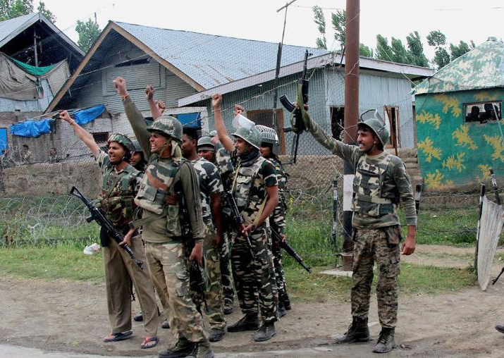 Representational pic - 80 militants killed in south Kashmir