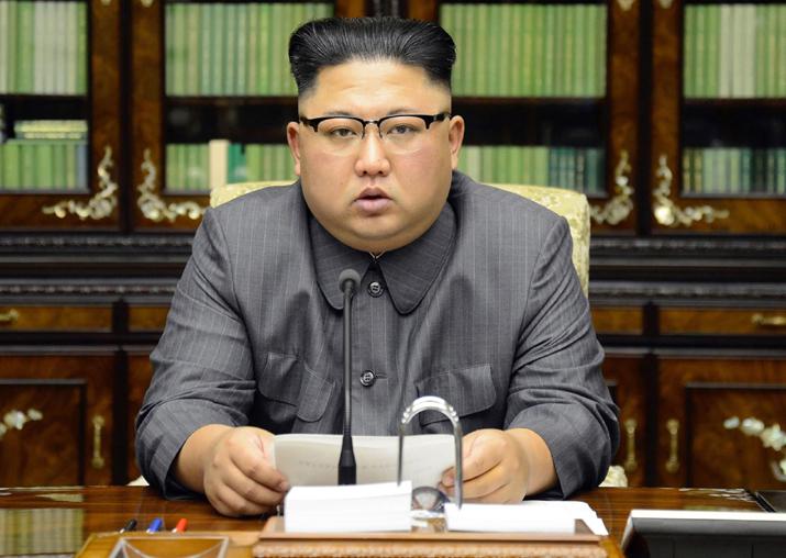 File pic of North Korean leader Kim Jong Un