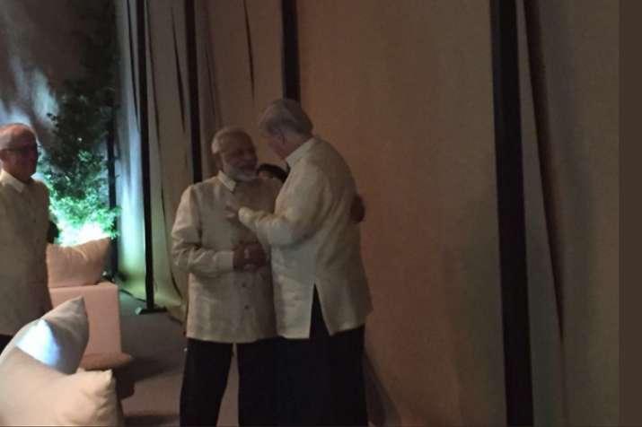 ASEAN Summit: PM Modi meets US President Donald Trump in