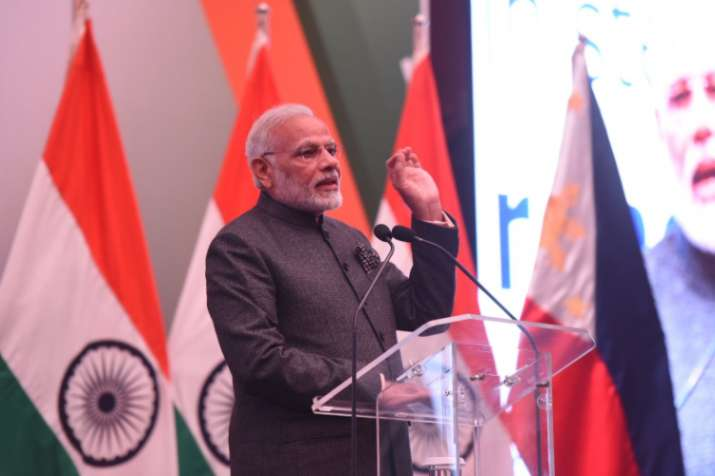 PM Modi hardsells India as an attractive investment