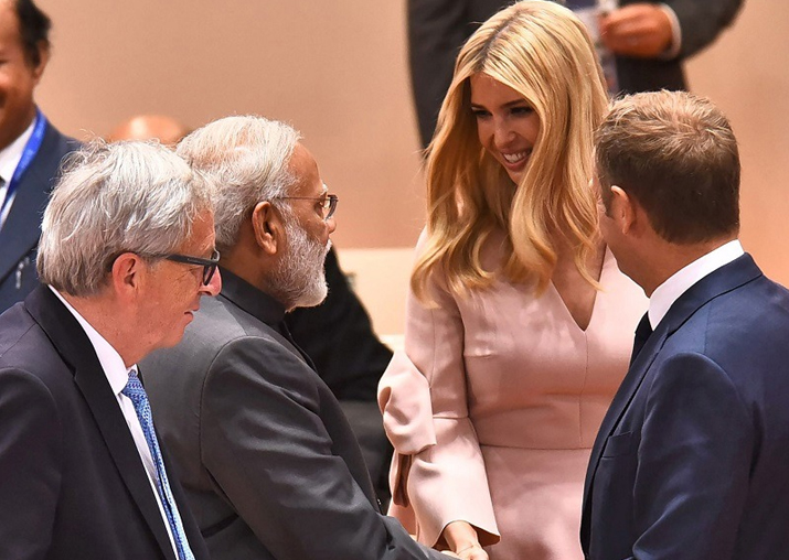 Ivanka Trump says 'excited about GES', PM Modi