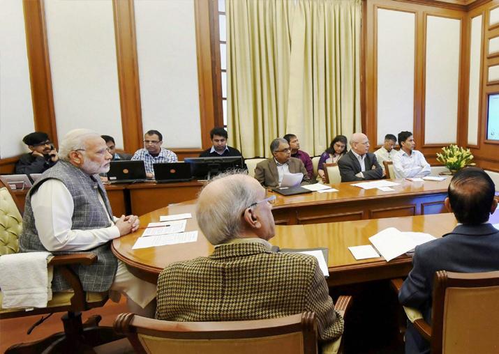 PM Modi chairing 23rd interaction through PRAGATI