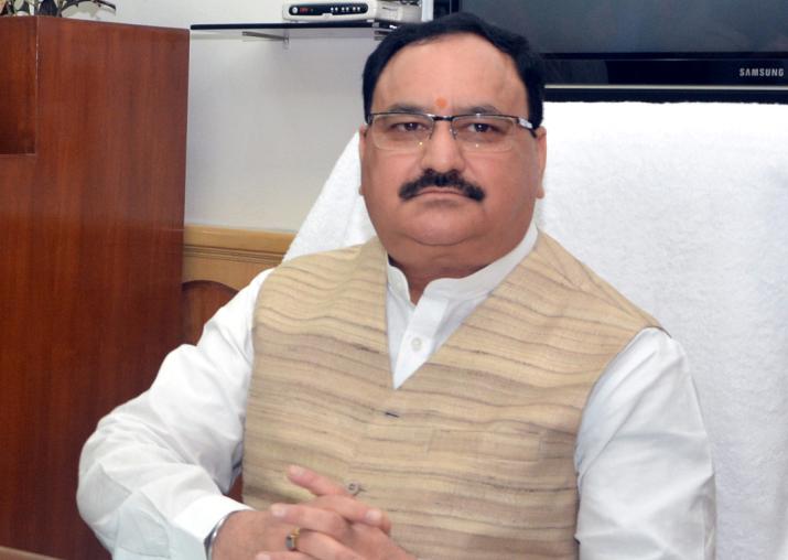 File pic of Union Health Minister JP Nadda