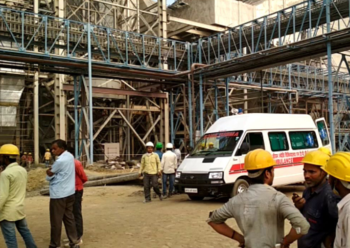 Blast occurred in a boiler at NTPC in Rae Bareli district