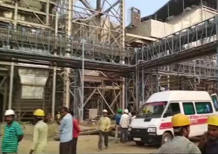 India Tv - Blast at NTPC's Unchahar plant
