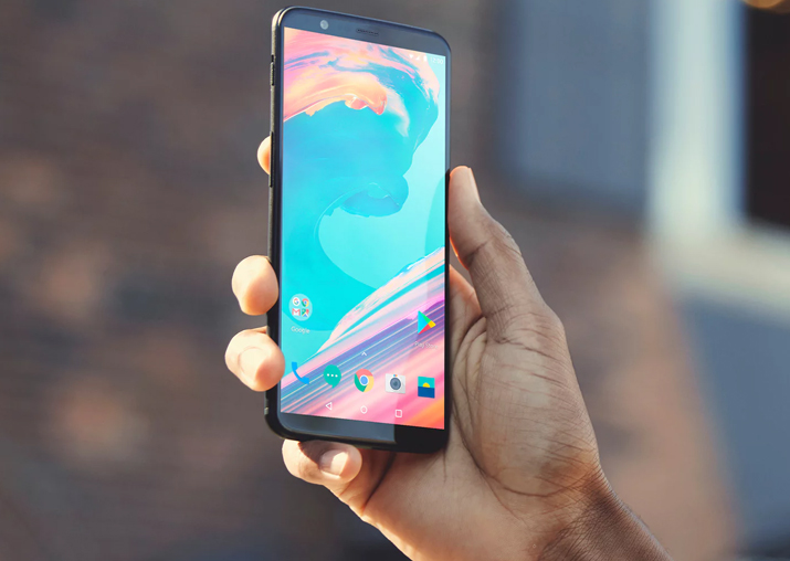 OnePlus launched its new flagship the OnePlus 5T at an
