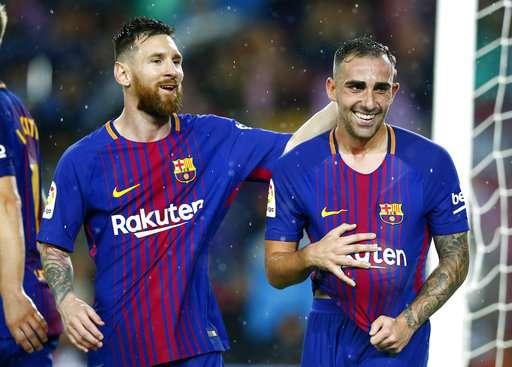 Pemain Buangan Barca Kalahkan Messi dan Cristiano Ronaldo dalam 3 Partai