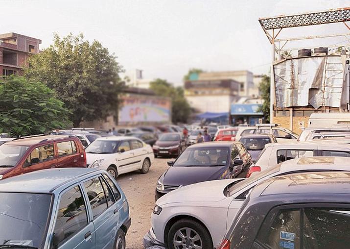 Representational pic - NGT bans parking in Sarojini Nagar