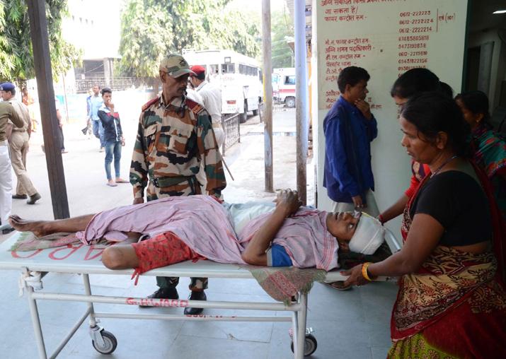 Patients inconvenienced as junior doctors at Patna Medical