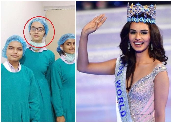 Photos Miss World 2017 Manushi Chillar Is Unrecognisable