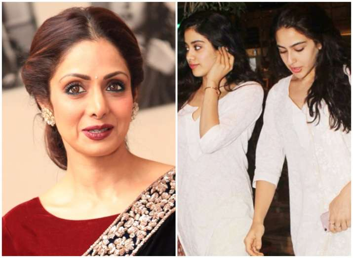 Sridevi on daughter Jhanvi Vs Sara Ali Khan