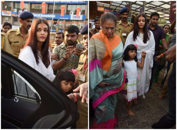 Aishwarya Rai Bachchan rings in her 44th birthday at Siddhi
