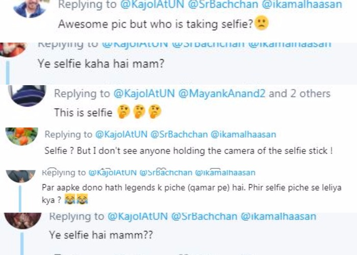 India Tv - Kajol was mocked on Twitter for writing 'selfie' in her caption