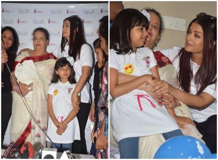 Aishwarya Rai Bachchan scolds paparazzi for getting too