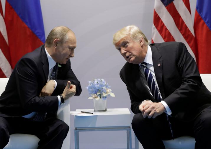 Donald Trump says he plans to meet Vladimir Putin during