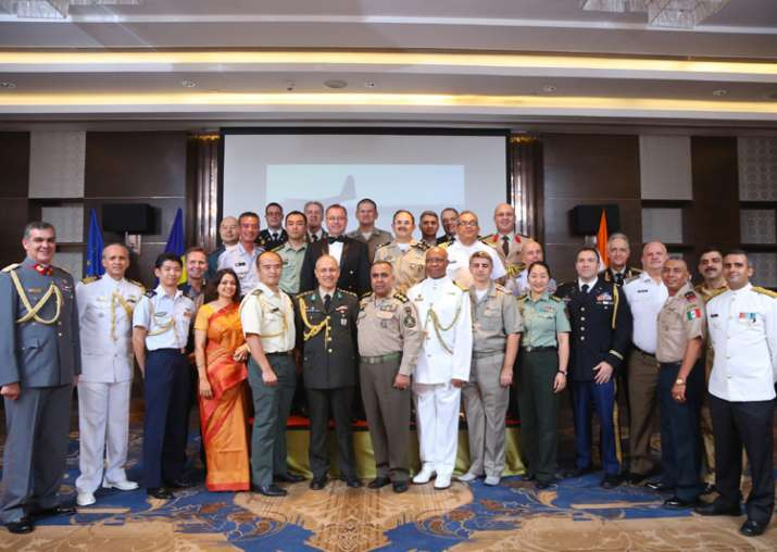 India Tv - Romanian Armed Forces Day celebrations in New Delhi