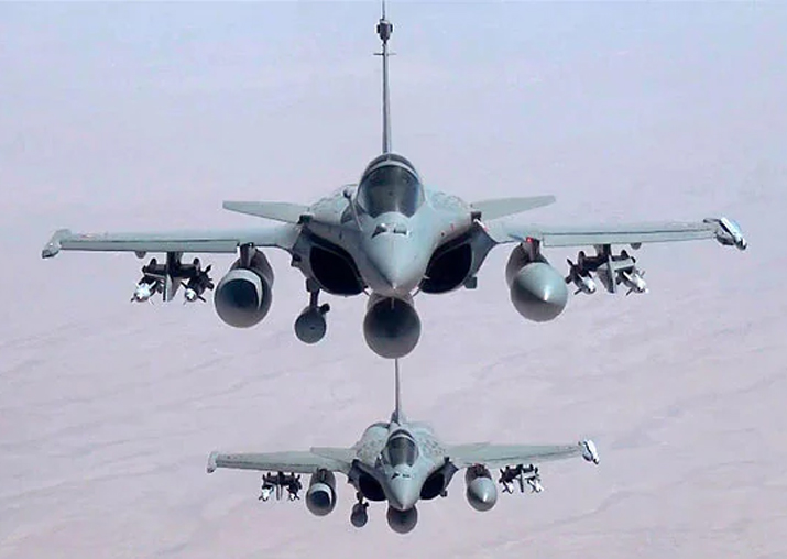 File pic - Rafale jets