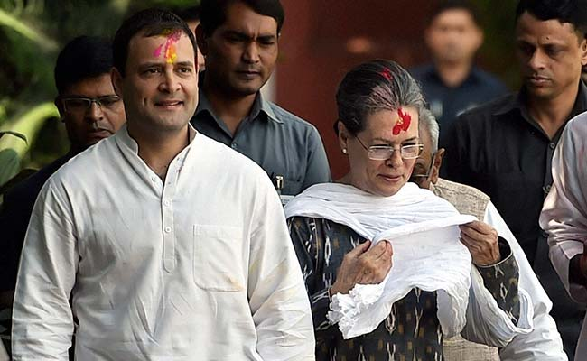 Rahul Gandhi set to take over as Congress president before