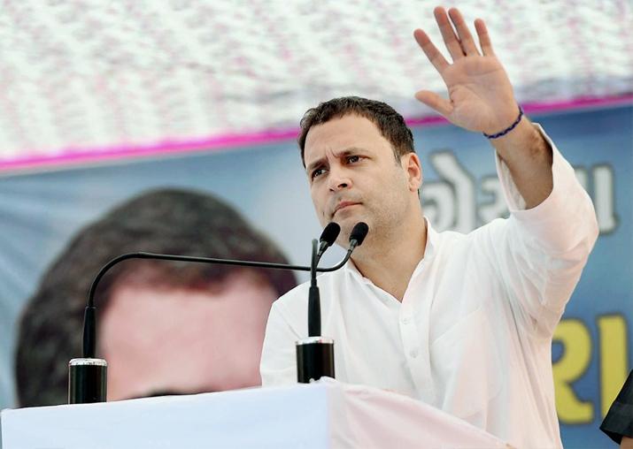 Gujarat polls: Rahul Gandhi promises farm loan waiver, free