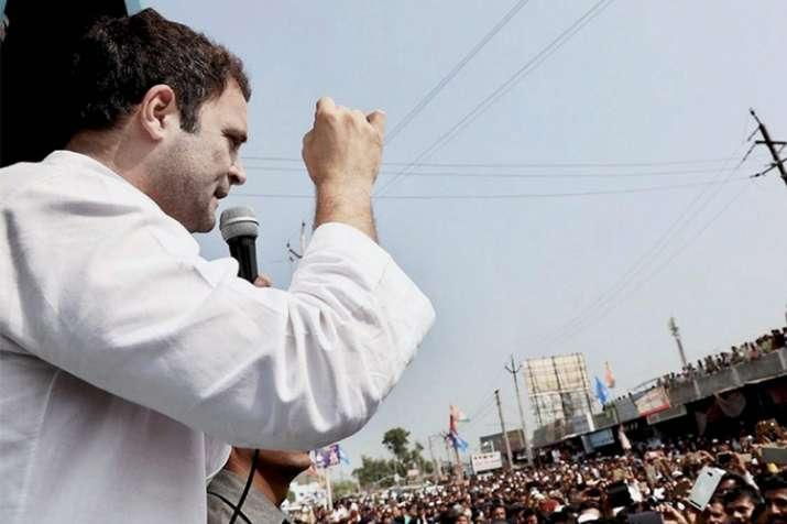 Gujarat polls: Rahul Gandhi flays PM Modi, Vijay Rupani