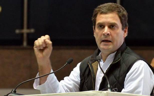 Rahul Gandhi likely to file nomination for Congress