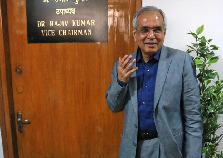 File pic - Vice-chairman of NITI Aayog Rajiv Kumar