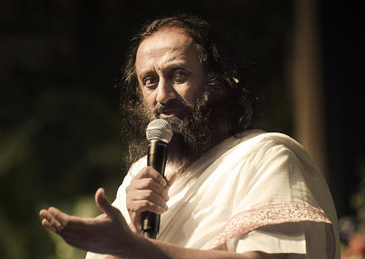 File pic of Art of Living founder Sri Sri Ravi Shankar