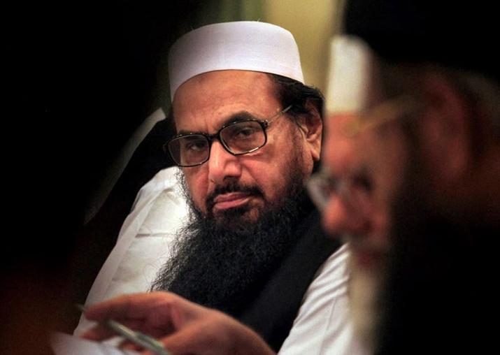 File pic of JuD chief terrorist Hafiz Saeed