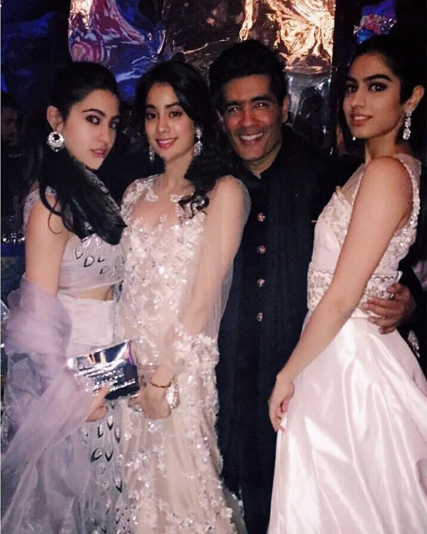 India Tv - Sara Ali Khan and Jhanvi Kapoor