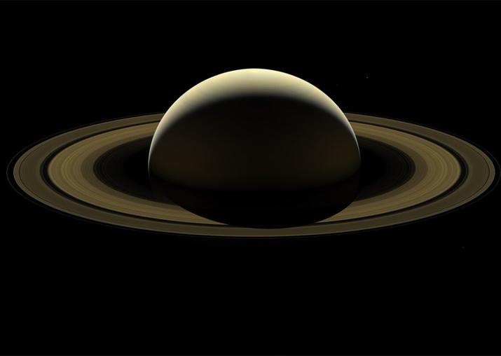 NASA unveils stunning 'farewell image' of Saturn