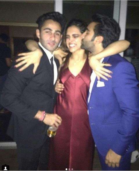 India Tv - Deepika Padukone at party last night