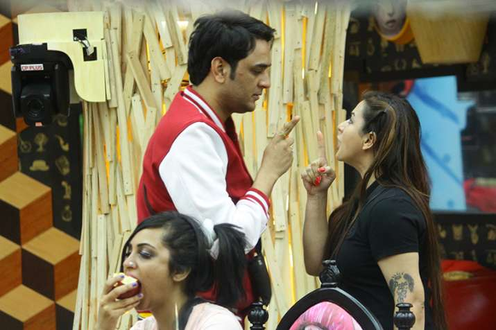 In Bigg Boss 11 Shilpa Shinde battles it out with Vikas