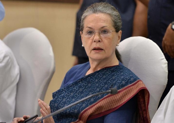 File pic of Congress president Sonia Gandhi