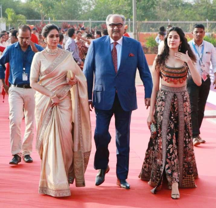 India Tv - Sridevi, Janhvi Kapoor